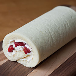 Strawberry Roll Cake Recipe The Delectable Hodgepodge