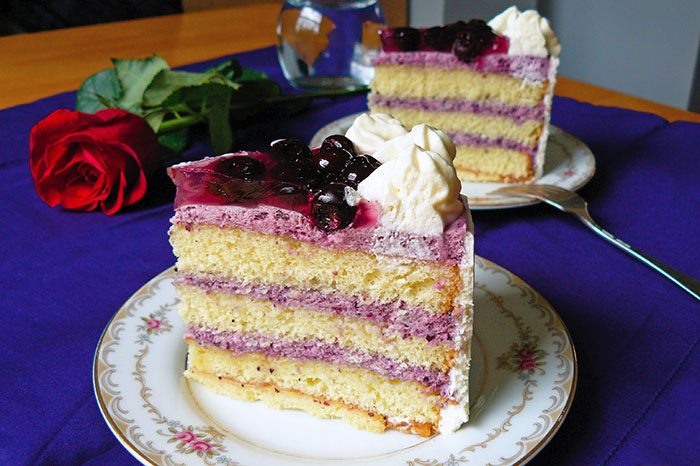 Blueberry Mousse Famouscake