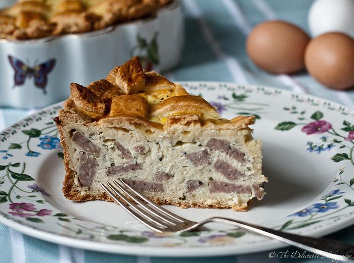 Grandma Erma Carosella's Easter Pie Recipe - The Delectable ...