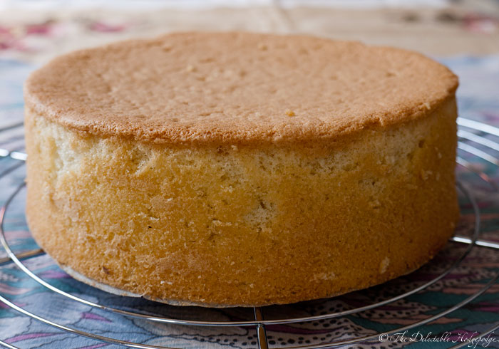 Sponge Cake Genoise Recipe The Delectable Hodgepodge